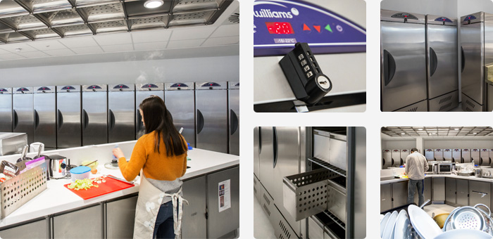 Bespoke Refrigeration at Edinburgh University