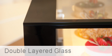 Double Layered Glass