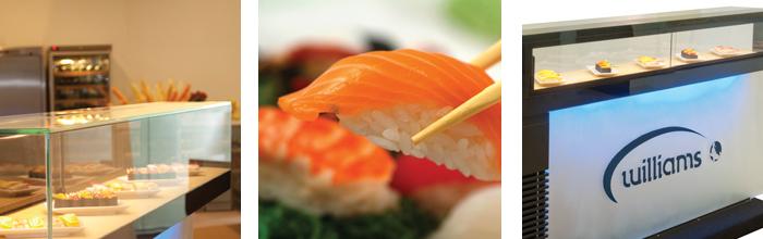 Williams Sushi Display