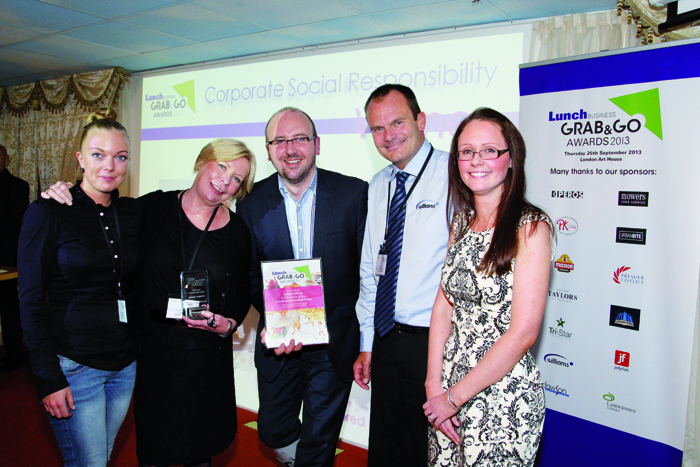 Williams sponsor the Lunch Business Grab & Go Awards