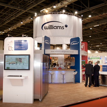 Williams at Hotelympia