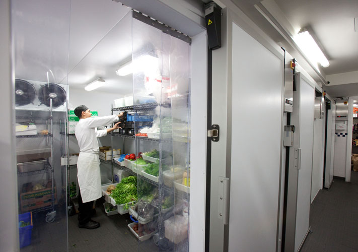 Inside a Williams Coldroom