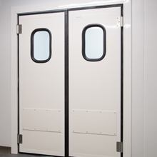 Personnel 'Flip Flap' Doors for Modular Cold Stores