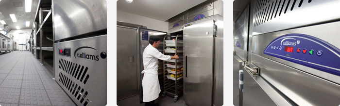 Williams Refrigeration Equipment at Le Cordon Bleu