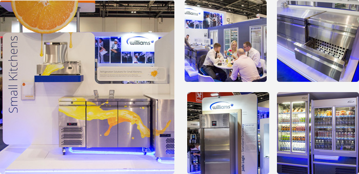 Williams products on display at Hotelympia 2016
