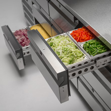Adaptable Freezer Drawers