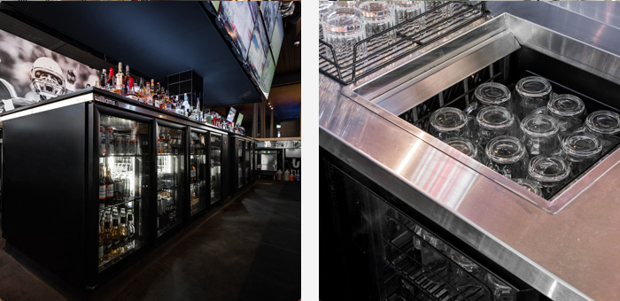 Bottle Coolers and Glass Chillers