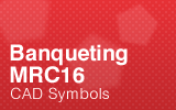 Banqueting - MRC16 - CAD Symbols.
