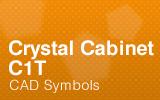 Crystal-Cabinets - C1T - CAD Symbols.