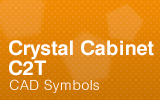 Crystal-Cabinets - C2T - CAD Symbols.