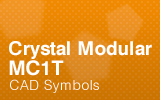 CrystalModular - MC1T - CAD Symbols.