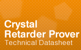 Crystal Retarder Prover Technical Datasheet.