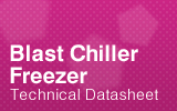 Blast Chiller Freezers Technical Datasheet.