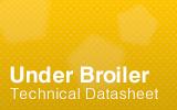 UnderBroiler Technical Datasheet.