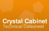 Crystal Cabinet Technical Datasheet.