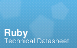 Ruby Technical Datasheet.