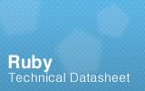 Ruby Technical Datasheet.
