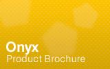 Onyx Brochure.