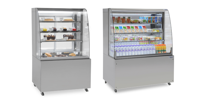 SC1200 and PC900 Refrigerated Display.