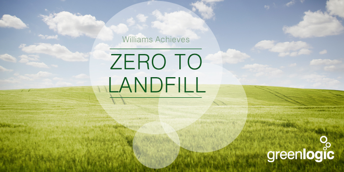 Williams Achieves 'Zero to Landfill'.