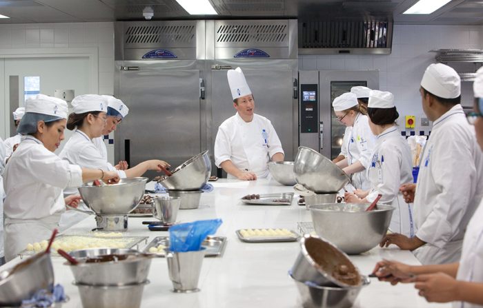 Le Cordon Bleu specifies hi tech, sustainable refrigeration.