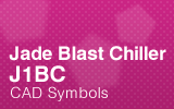 Jade BlastChiller - J1BC - CAD Symbols.