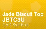 Jade BiscuitTop - JBTC3U - CAD Symbols.