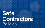 Safe Contractor Certificate.