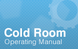 Coldroom Operating Manual.