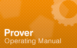 Prover Operating Manual.