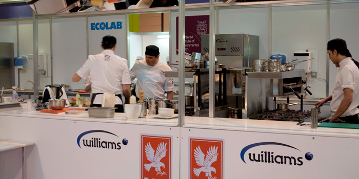 Williams and Falcon sponsoring Salon Culinaire.