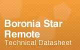 Boronia Star Remote Datasheet.