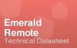 Emerald Remote Datasheet.