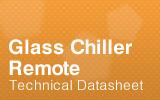 Glass Chiller Remote Datasheet.