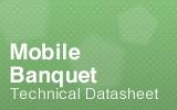 Mobile Banquet Cart Datasheet.