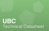 UBC Datasheet.