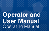 Operator and User Manual.