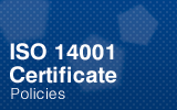 ISO14001 Certificate.