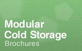 Modular cold storage.