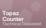 Topaz Counter Datasheet.
