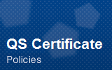QS Certificate.