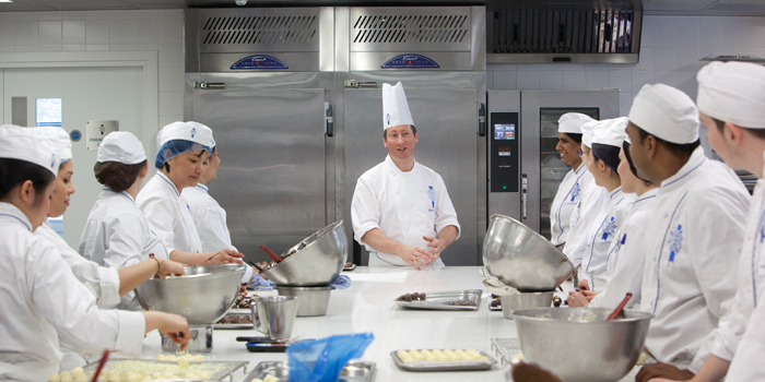Williams Refrigeration's products in action at Le Cordon Bleu.