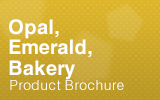 Opal, Emerald and Bakery Brochure.