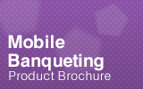 Mobile Banqueting Trolley Brochure.