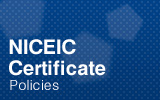 NICEIC Certificate.
