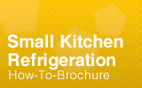 Refrigeration for Small Kitchens.