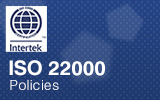 ISO22000 Certificate.