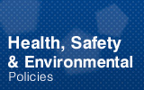 Health, Safety Environmental & Energy Policy.