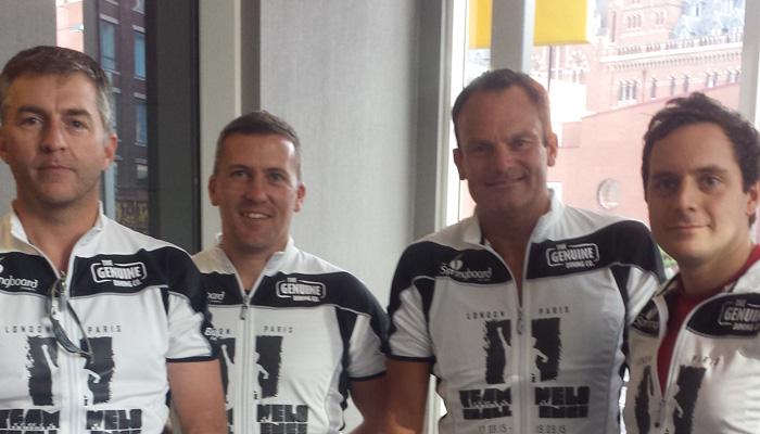 Williams' 'Cool Riders' contest Springboard Paris Challenge.