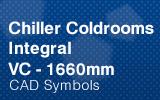 Chiller Coldrooms - Integral 1660mm.